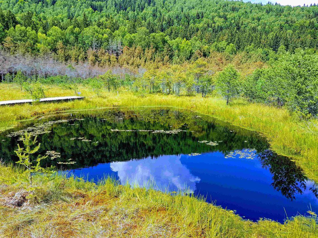 22-meters deep lake