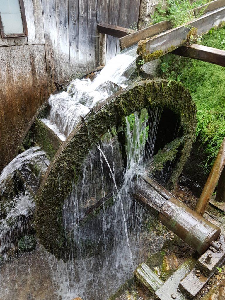 Watermill in Rimetea Village, Romania