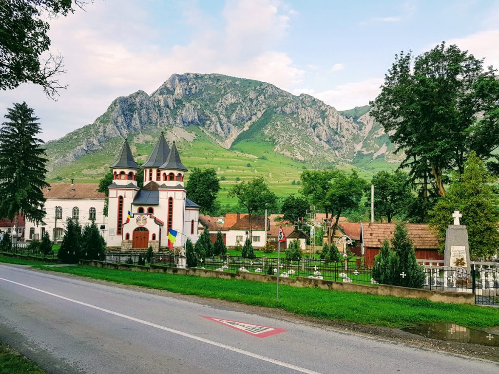 Rimetea Village in Romania