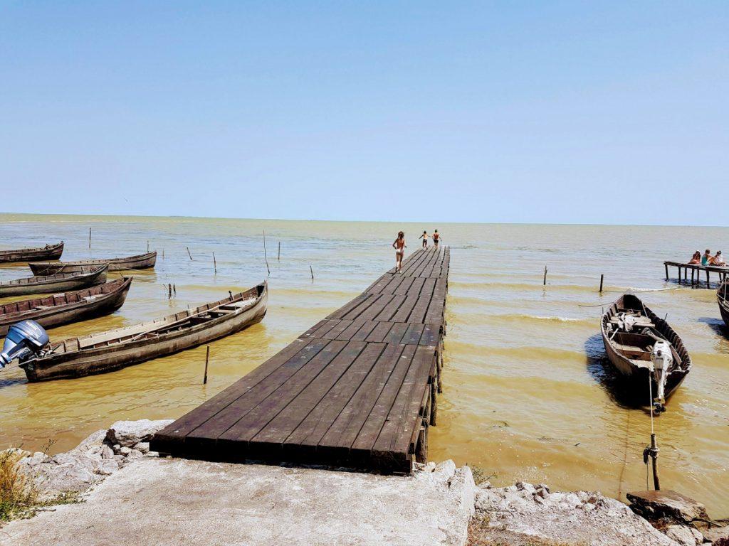 Playground of the village: Lake Razim