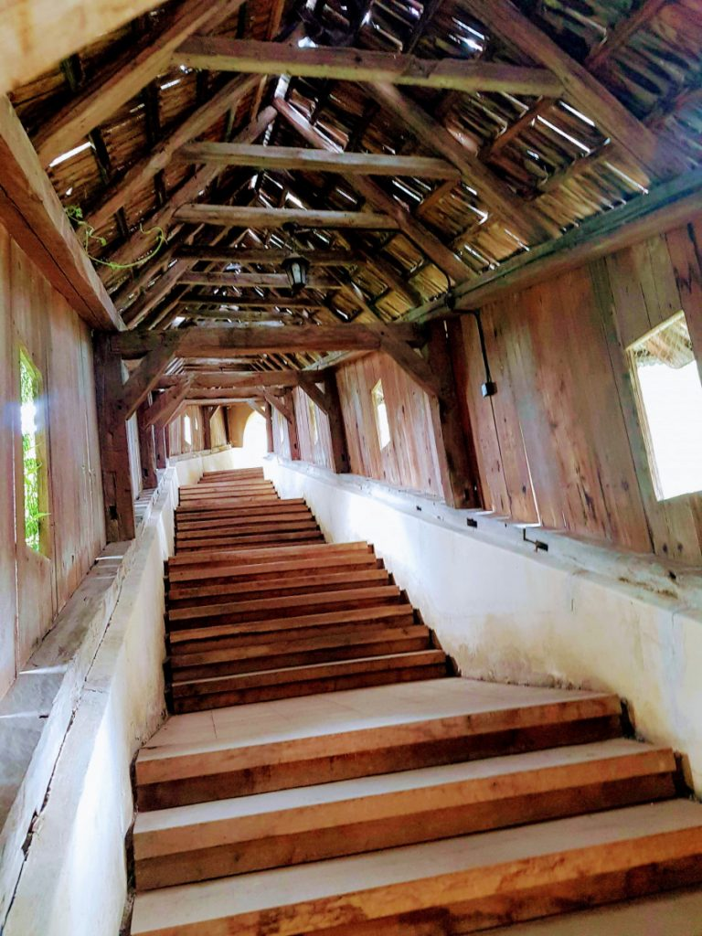 Covered Stairs to Biertan Church