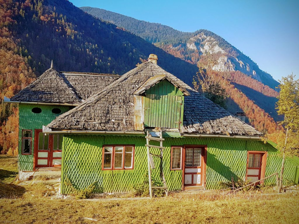 Traditional house in Magura
