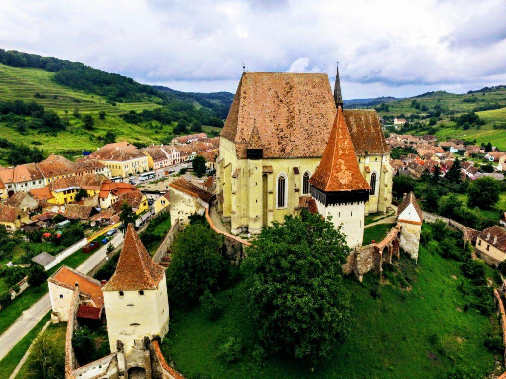 Biertan Church - village in Romania