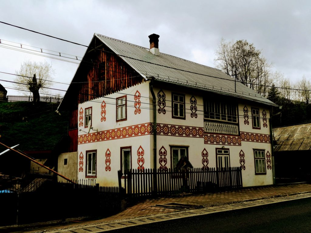 Traditional house in Ciocănești Village (Bucovina)