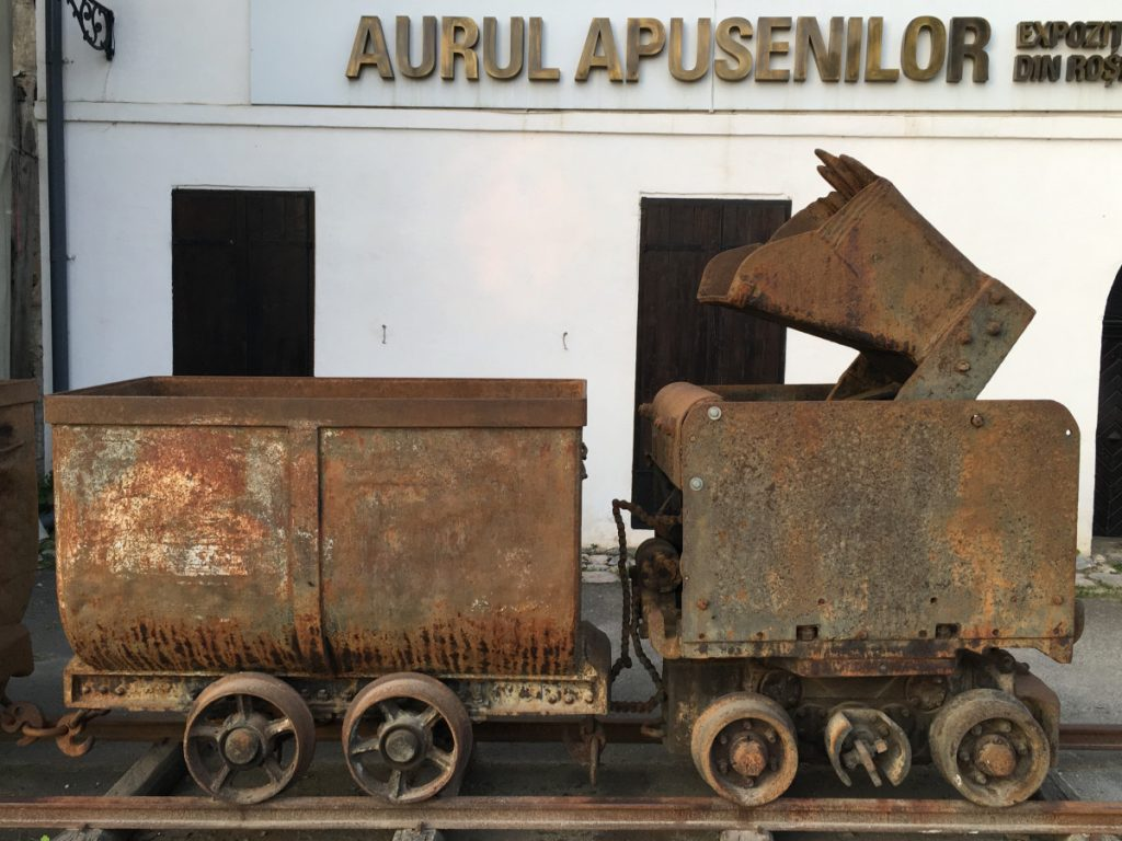 """Mining Museum """"The gold from Apuseni Mountains"""" in Rosia Montana"""