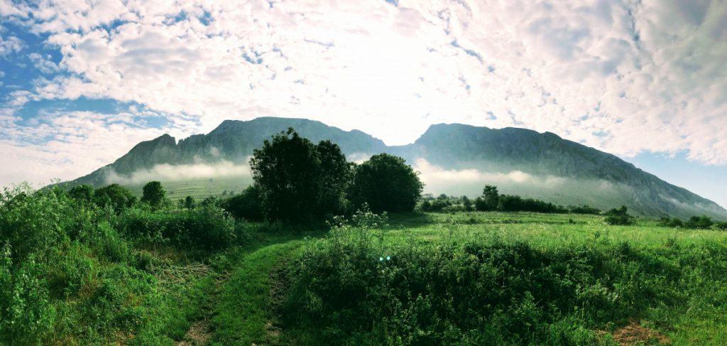 View from Rimetea: Piatra Secuiului