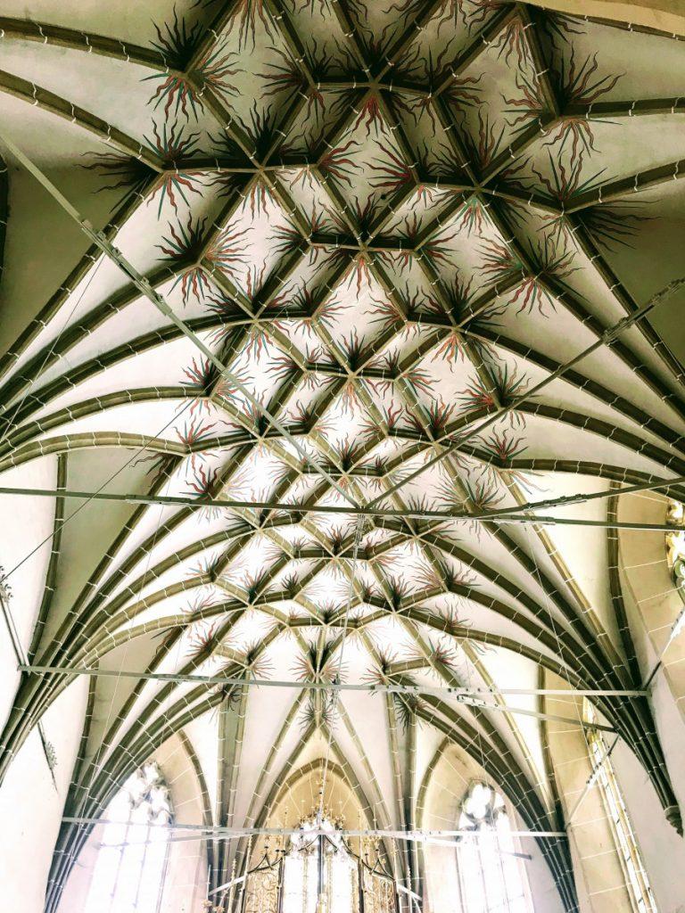 Biertan ceiling