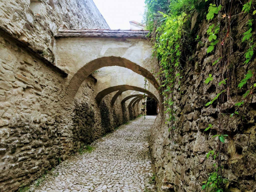 Defensive walls in Biertan