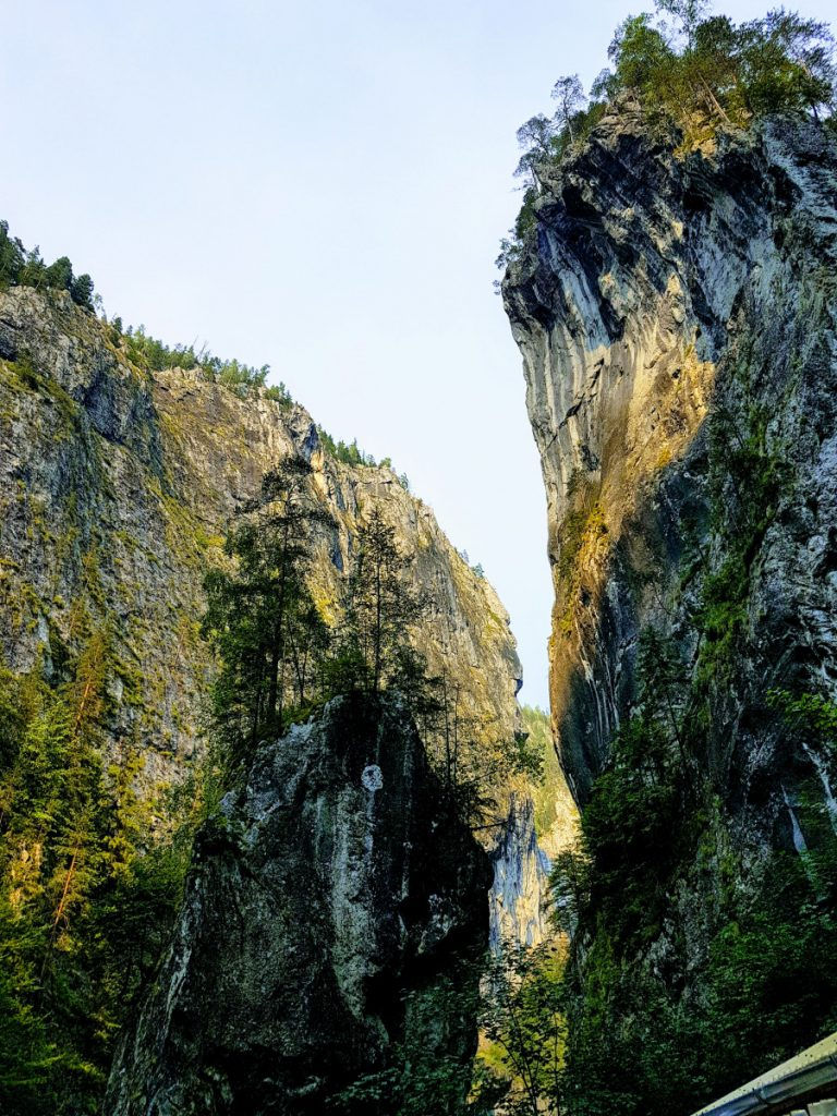 The lonely rock in Bicaz Gorge