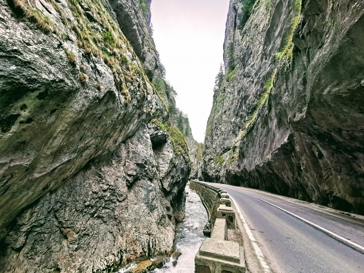 Bicaz Gorge – the road carved in the mountain