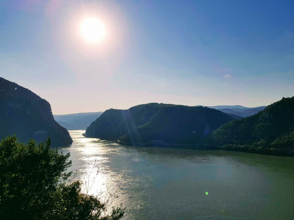 River Danube Canyon at Big Boilers (Cazanele Mari)