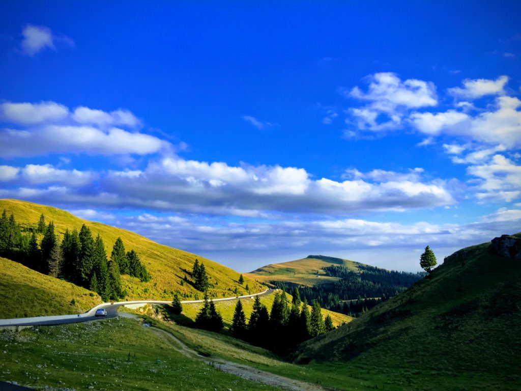 Transbucegi Road - one of the most spectacular roads in Romania
