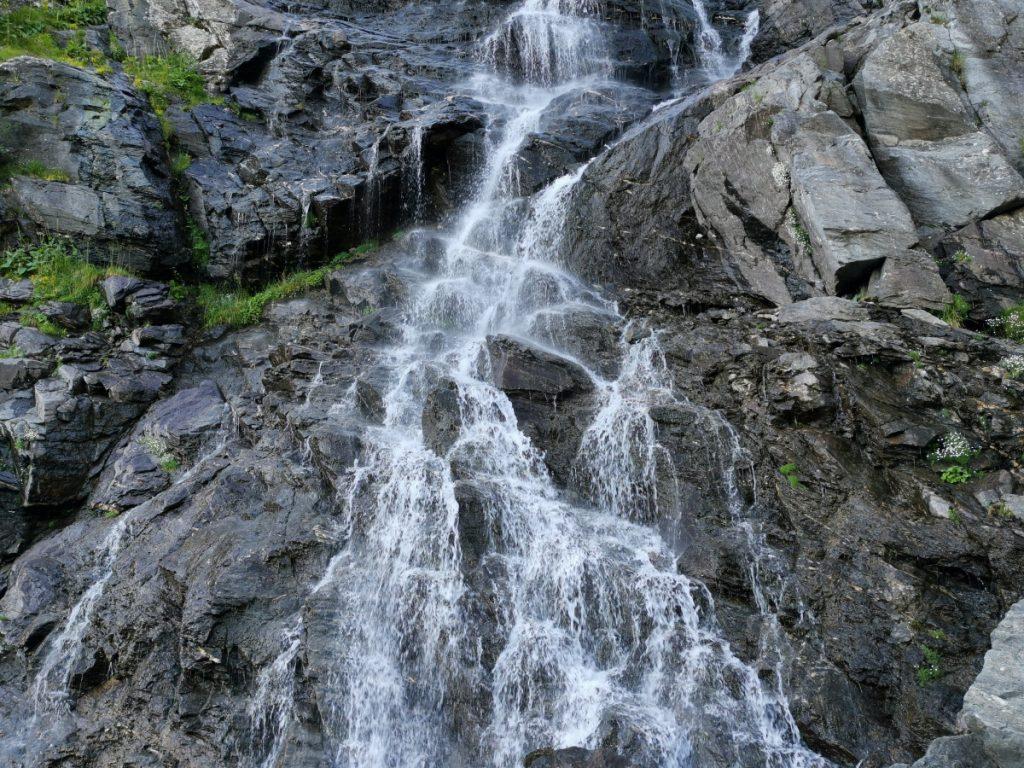 Bâlea Waterfall on Transfăgărăşan