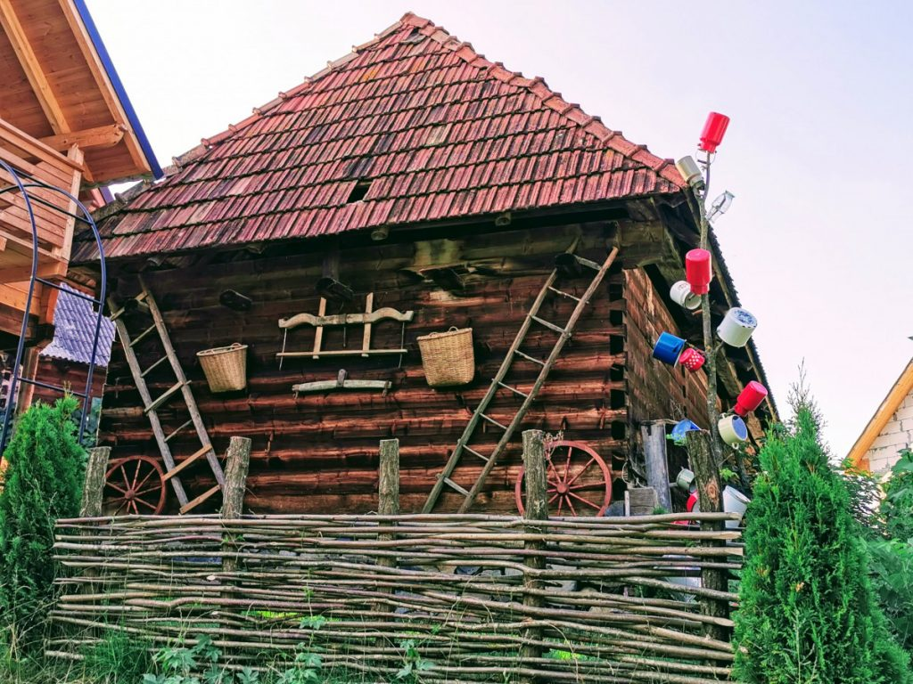 Traditional house in Breb Village
