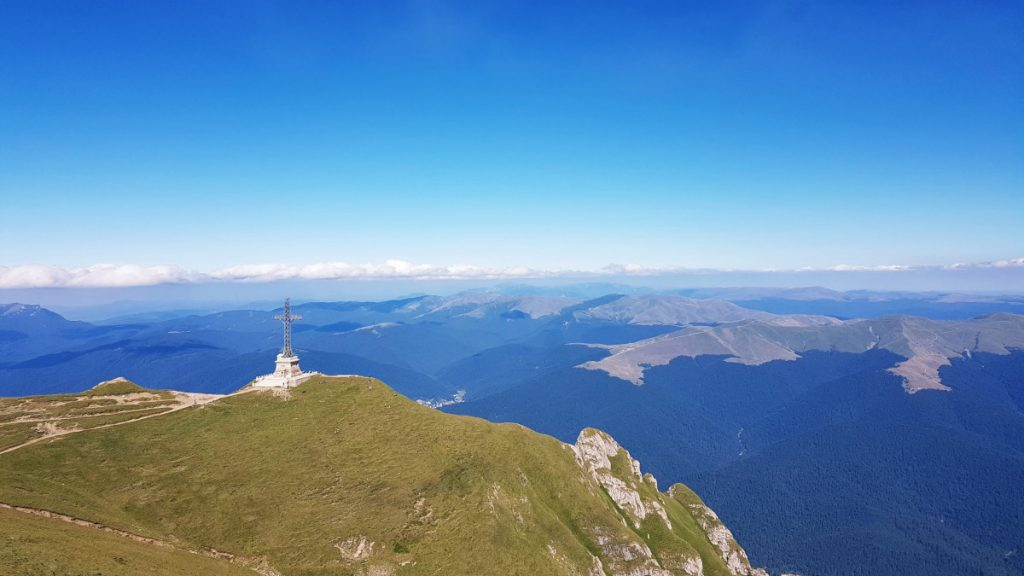 The Cross on Bucegi Mountains