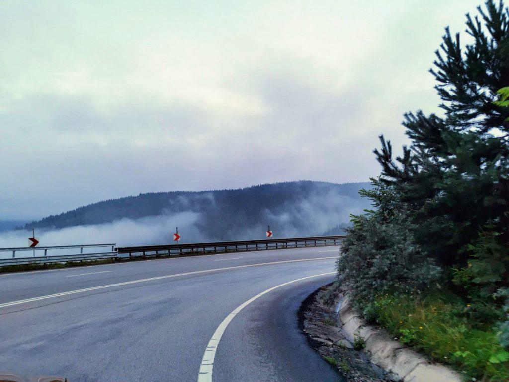 Amazing roads in Romania