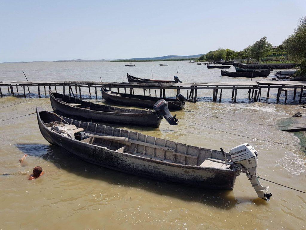 Boats in Sarichioi