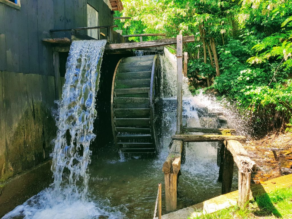 Water mill at Ohaba