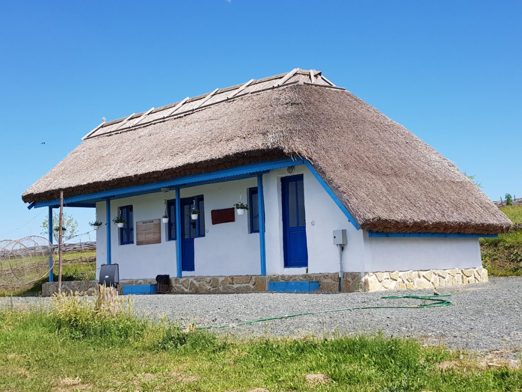 Traditional fishing village Museum in Tulcea