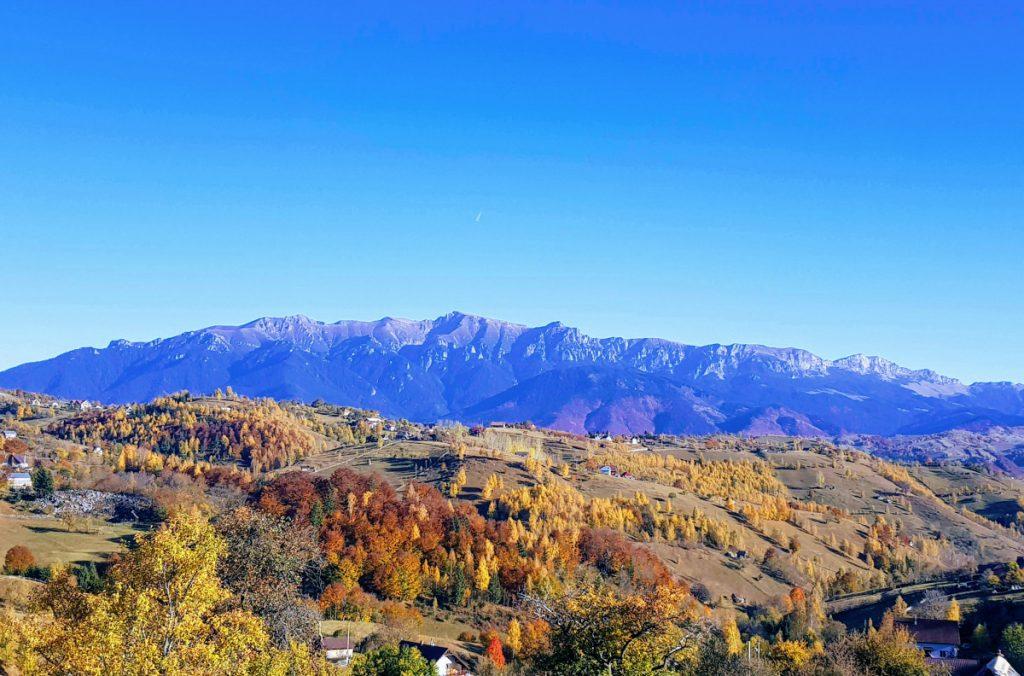 Bucegi Mountains from Magura