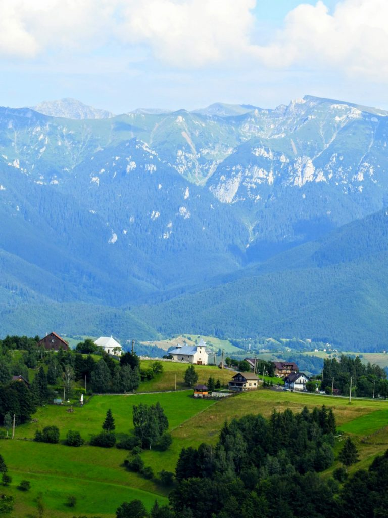 View over Magura Village