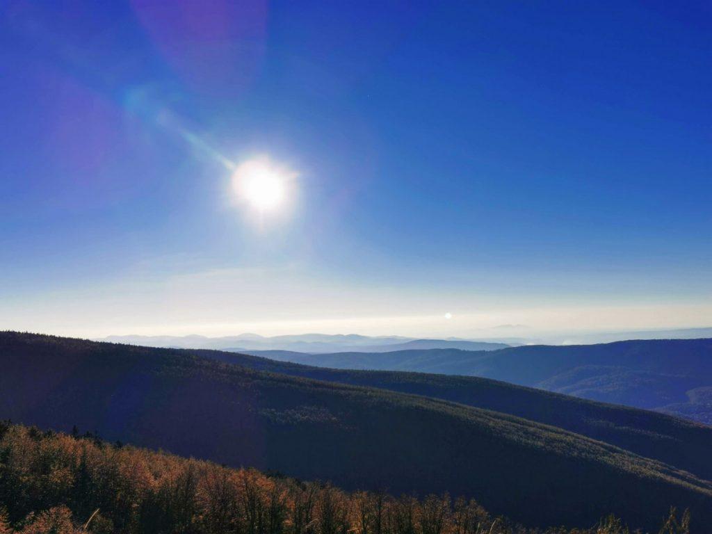 View from Semenic Peak