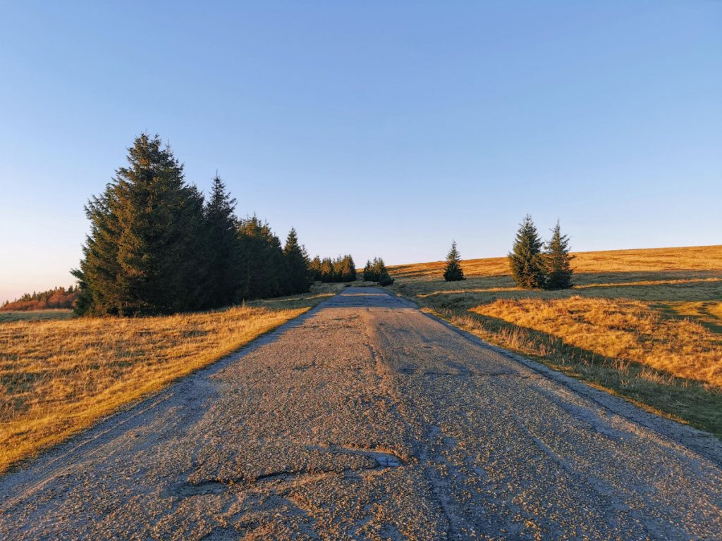 Road to Semenic Peak