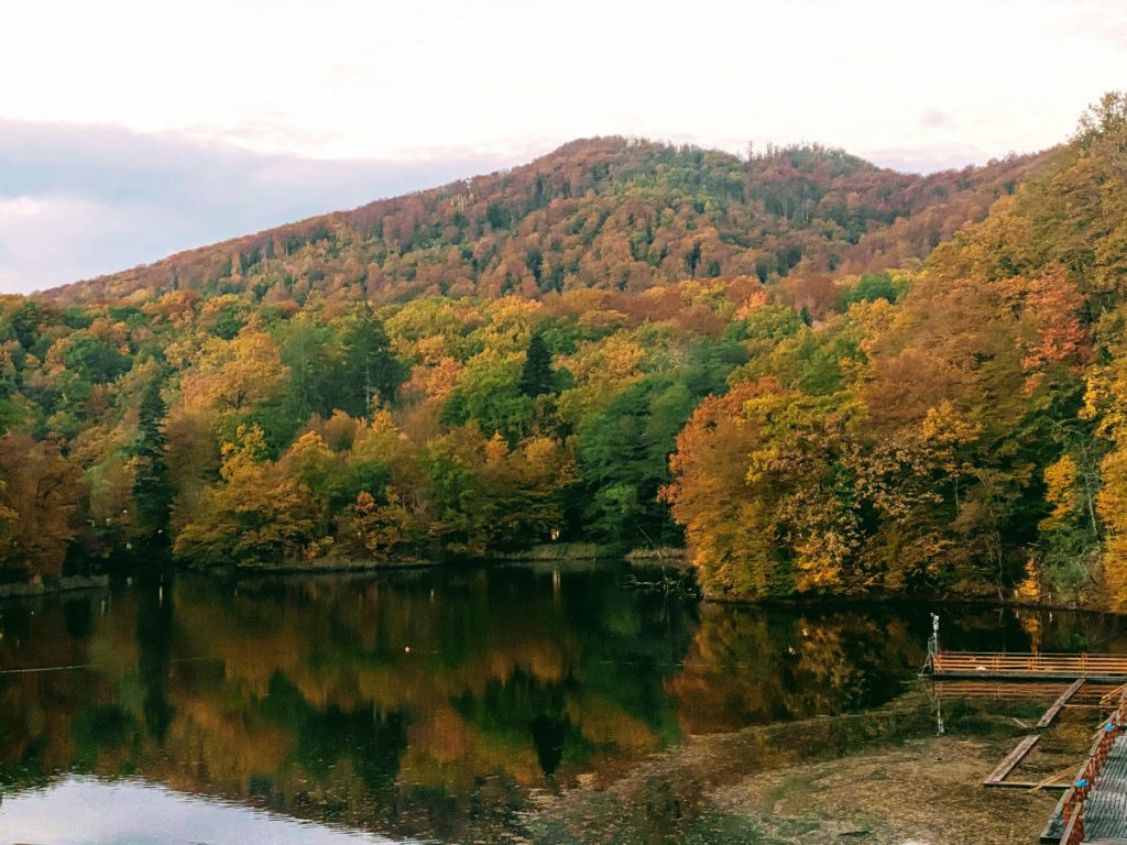 Ursu Lake in Sovata