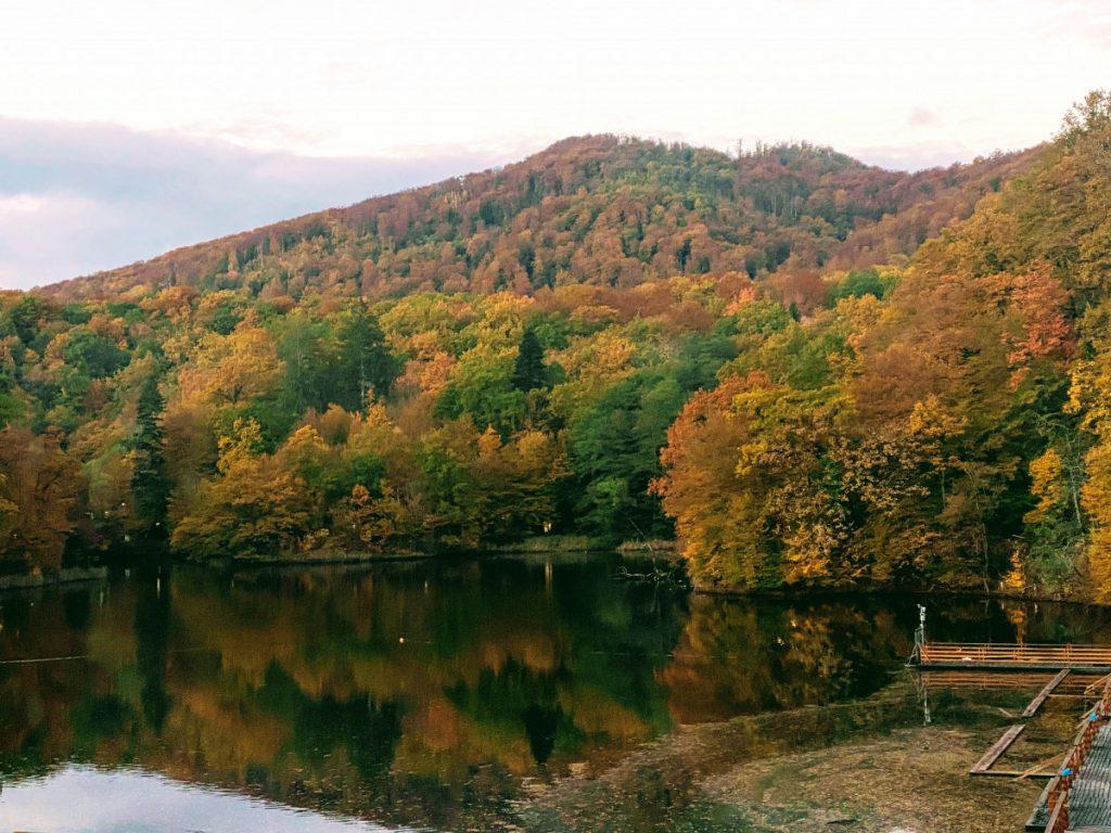 Ursu Lake in Sovata